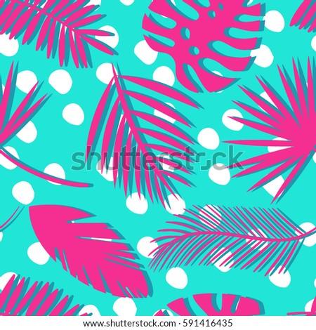 seamless tropical vector