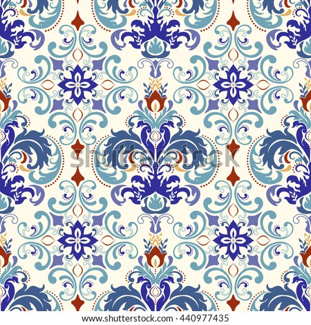 seamless turkish colorful