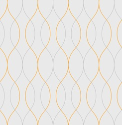 Seamless  vector abstract wave pattern background