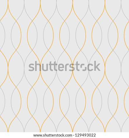 Seamless  vector abstract wave pattern background #129493022