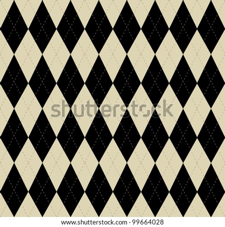 seamless vector argyle pattern