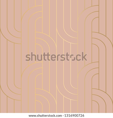 Seamless vector art deco pattern for surface design