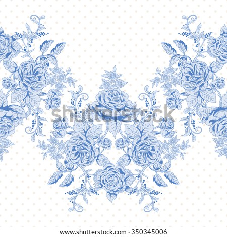 seamless vector background with