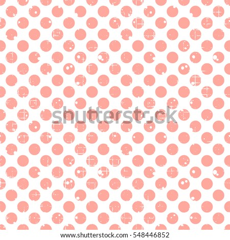 seamless vector dotted pattern