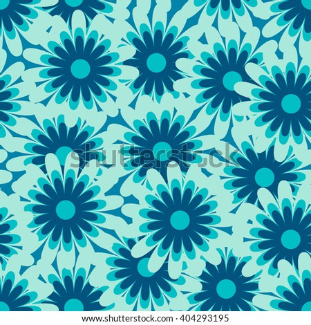 Seamless vector floral pattern. Retro pattern. Ornament can be used as wallpaper. Vector floral pattern. Retro pattern.