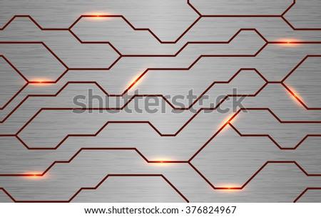 seamless vector futuristic