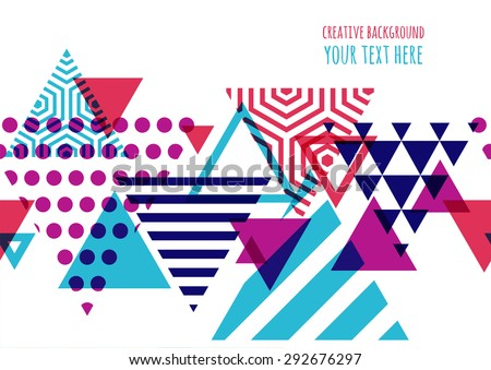 seamless vector geometric