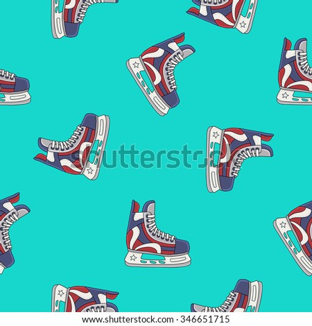 seamless vector pattern and the