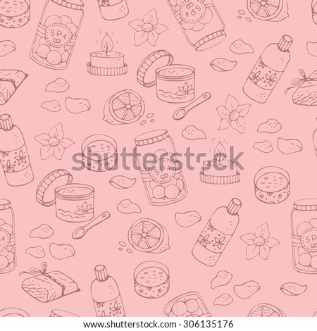seamless vector pattern doodle