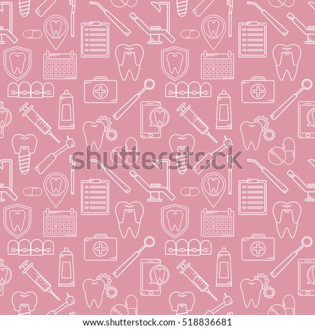 seamless vector pattern in a