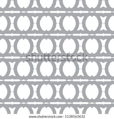 Seamless vector pattern in geometric ornamental style #1138563632