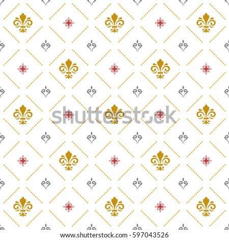 seamless vector pattern modern