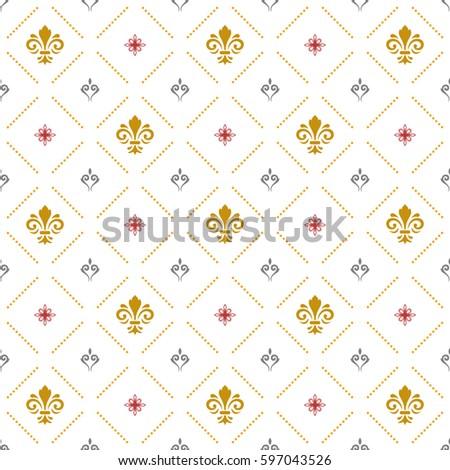 seamless vector pattern modern