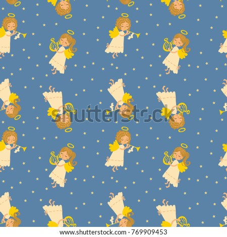 seamless vector pattern of