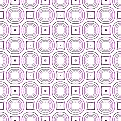 seamless vector pattern of ovals and circles. purple gradient. vector illustration