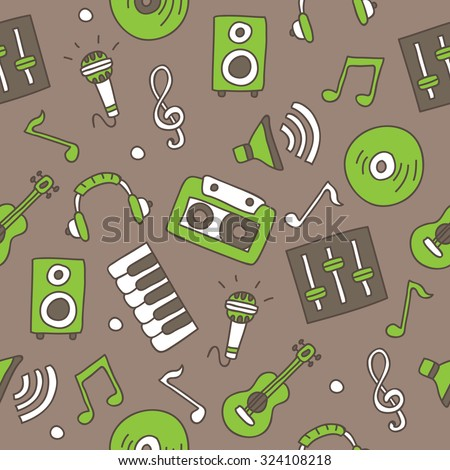 seamless vector pattern of the