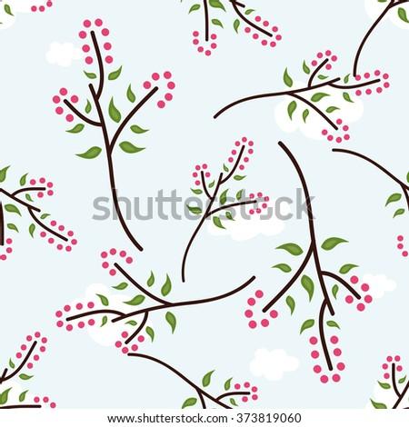 seamless vector pattern sweet