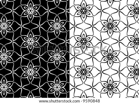 patterned wallpaper. vector pattern, wallpaper