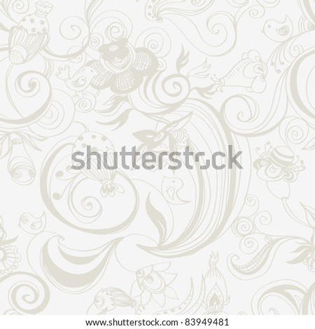 Seamless vector pattern,  Wallpaper,
