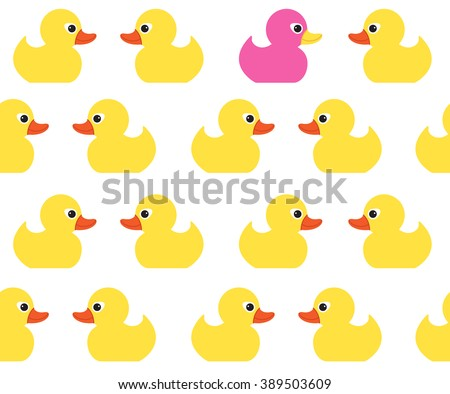 Baby shower rubber duck invitations download free vector art seamless vector pattern with cute bright yellow ducks duck toy baby shower illustration for filmwisefo