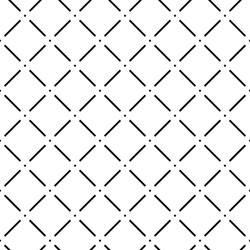 Seamless vector pattern with diamonds
