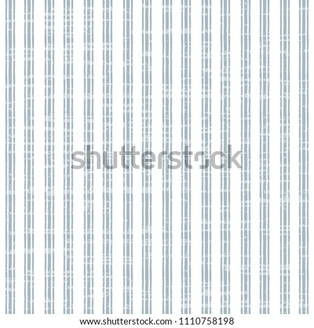 Seamless vector pattern with vertical stripes and texture, abstract vintage background, simple hand drawn design. Grey and white.