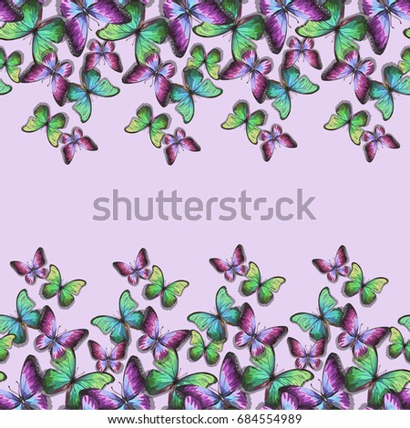 seamless vector purple