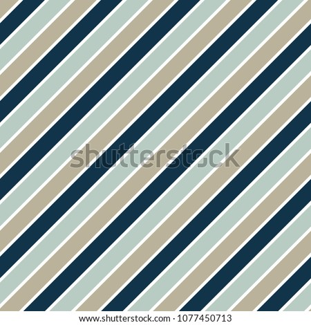 Seamless vector repeatable pattern with colored diagonal strips