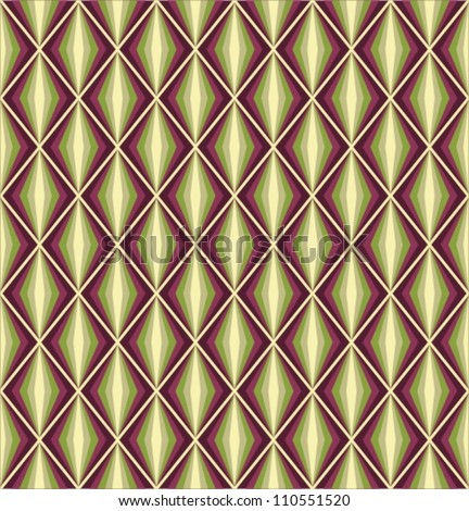 Seamless vector retro harlequin background