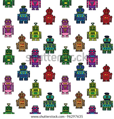 seamless vector robots