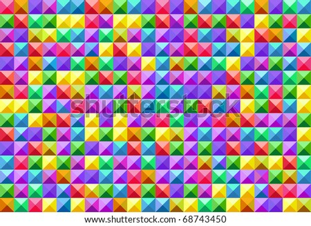 Seamless vector square variegated texture