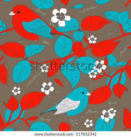 seamless vector texture with