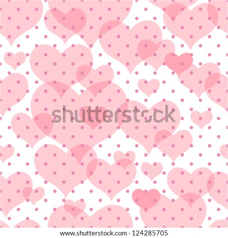 Seamless vector texture with hearts and peas you can for Wallpaper you can color
