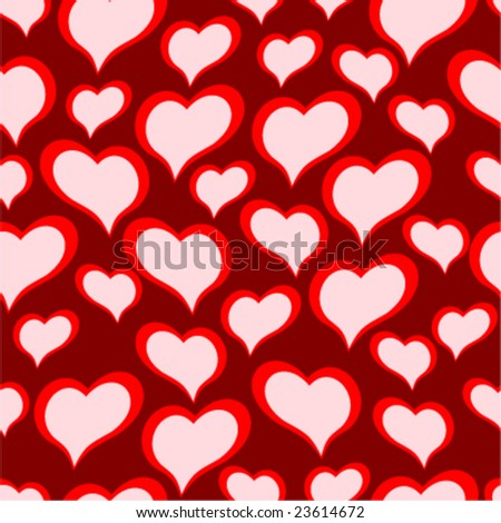 seamless vector texture with hearts you can create the