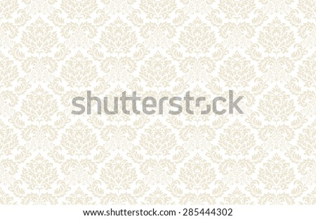 seamless vintage floral