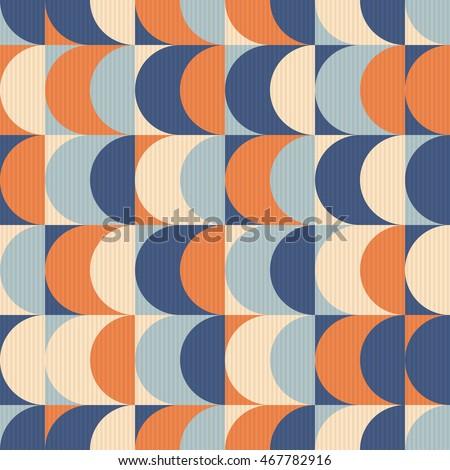 seamless vintage geometric pattern