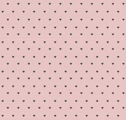 Seamless vintage heart pattern background