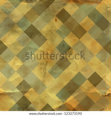 Seamless vintage pattern. - stock vector