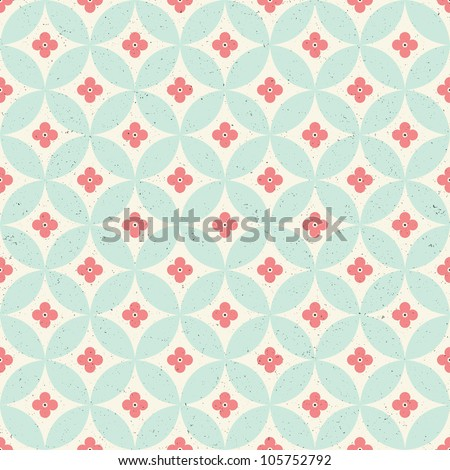 seamless vintage pattern eps 10