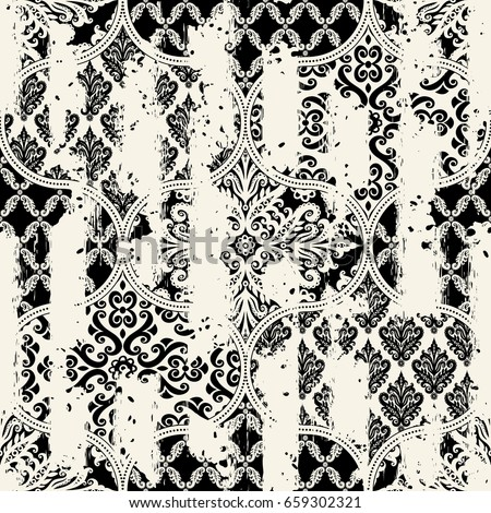 stock-vector-seamless-vintage-pattern-with-an-effect-of-attrition-patchwork-tiles