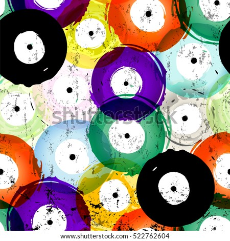 seamless vinyl records