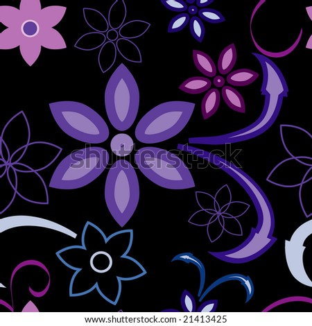 ***Tattoo: Alices Garden Tattoo Flowers violet flower wallpaper