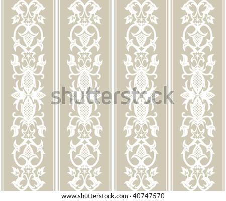 wallpaper vintage pattern. Seamless wallpaper pattern