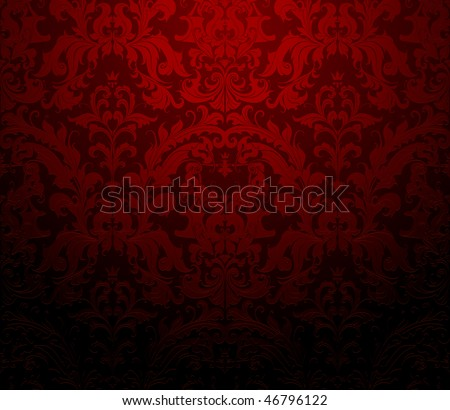 seamless wallpaper pattern  red