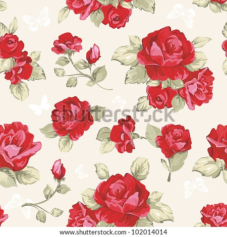 seamless wallpaper pattern with