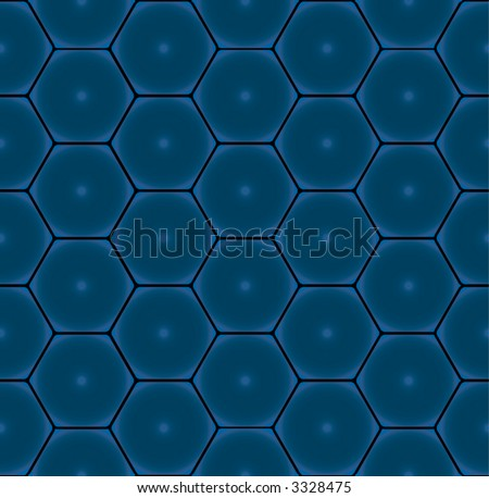 Seamless Wallpaper Tile Pattern, Honeycomb And Hexagon Design