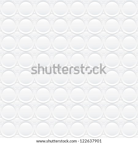 Seamless white background - stock vector