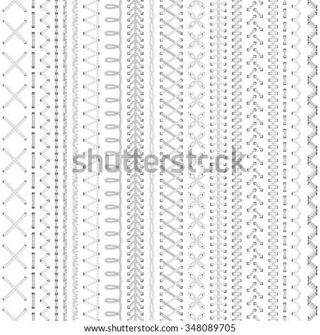 seamless white embroidery