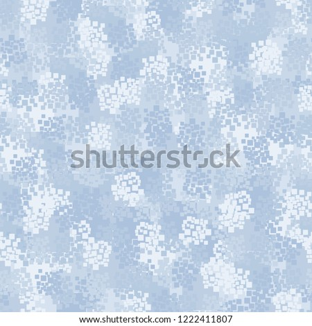 seamless winter camouflage