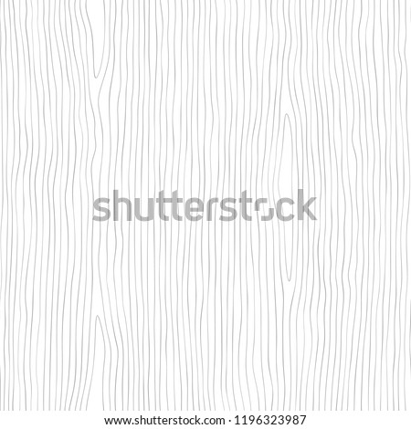 Seamless wooden pattern. Wood grain texture. Dense lines. Abstract background. Vector illustration